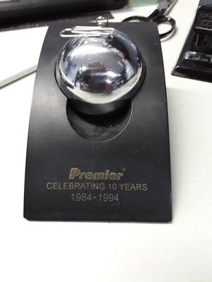 Magnet ball paperclip dispenser from Premier
