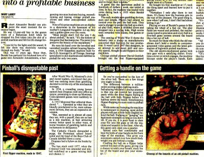 MTL Gazette May 27, 1990 - bottom left of article - Montreal by laws.jpg